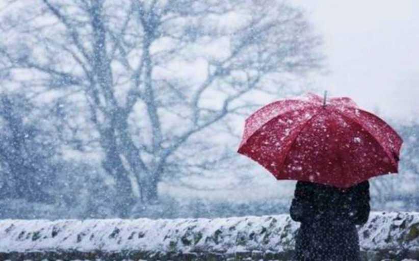 Βροχές την Πέμπτη, σφοδρές χιονοπτώσεις φέρνει η «Μήδεια» από το Σάββατο
