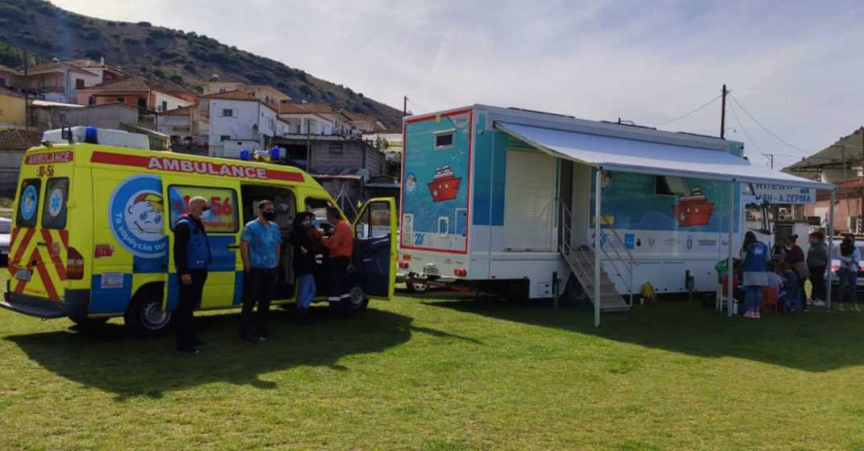 Συγκέντρωση ειδών για για τα παιδιά και τις οικογένειες που επλήγησαν από τους σεισμούς στη Λάρισα