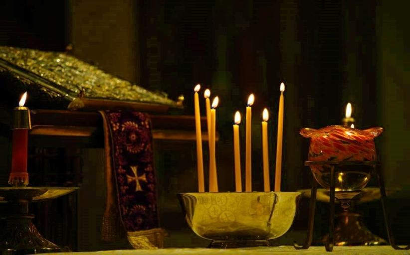 Ιερό Ευχέλαιο στον Άγιο Δημήτριο Διάβας