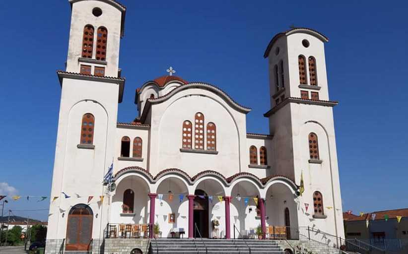 Μη τήρηση μέτρων για την covid 19 στον Ιερό Ναό Κωνσταντίνου και Ελένης Καλαμπάκας