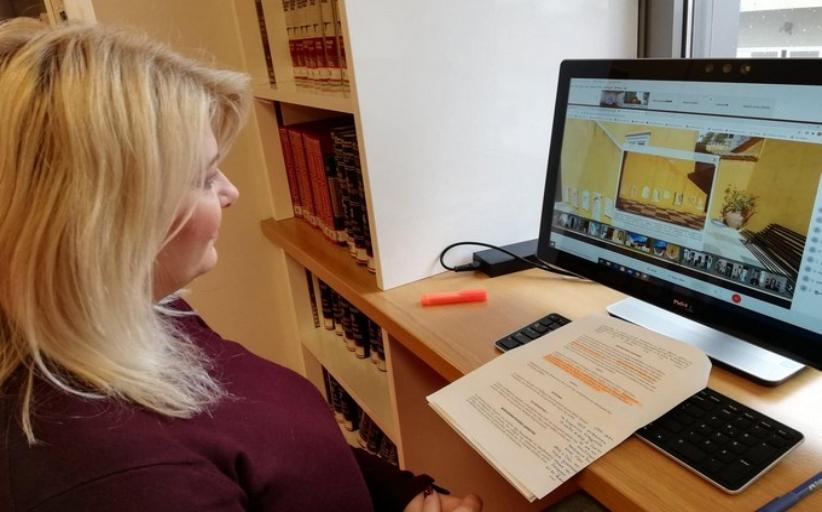Εικονική περιήγηση στην ιστορική οικία του Λάζαρου Κουντουριώτη με τους μαθητές του 1ου Δημοτικού Σχολείου Καλαμπάκας