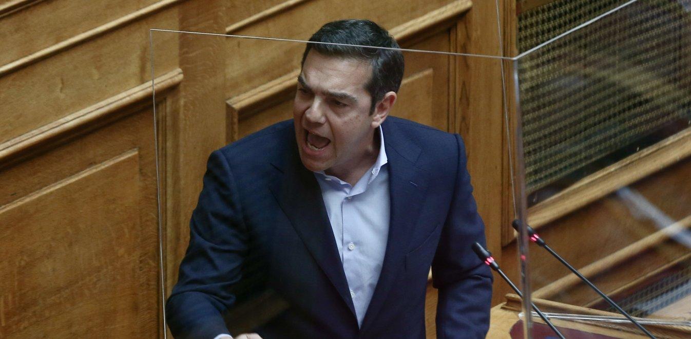 Τσίπρας στη Βουλή: «Τα καθεστώτα πέφτουν με πάταγο και τα ρίχνει η δημοκρατία»