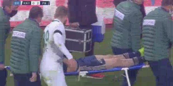 Δημήτρης Πέλκας: Σοκαριστικός τραυματισμός στο τουρκικό πρωτάθλημα