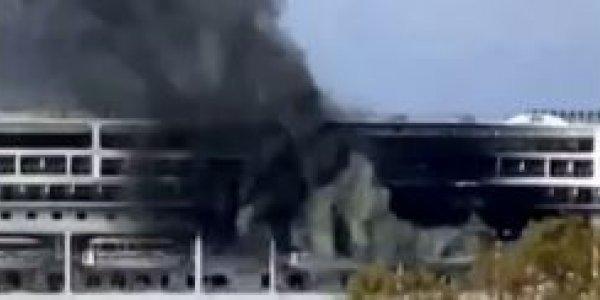 Φωτιά ξέσπασε σε κρουαζιερόπλοιο στην Κέρκυρα