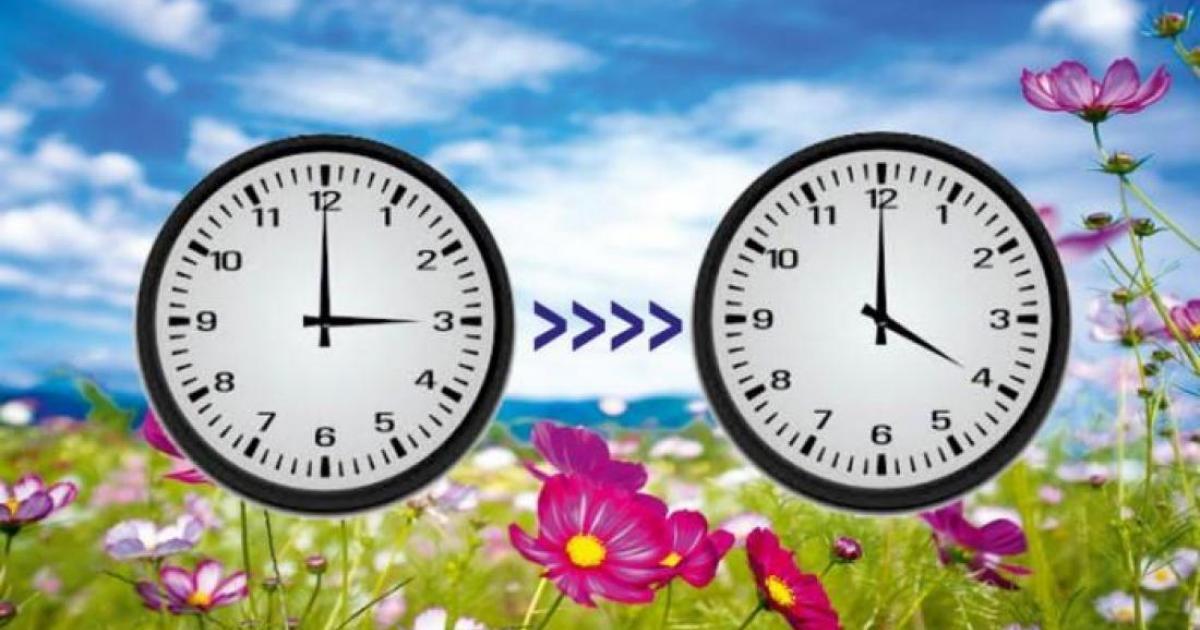 Αλλαγή ώρας: Αντίο στη χειμερινή από την Κυριακή 28 Μαρτίου