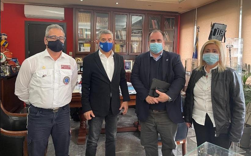 Σε Πρότυπο Παράρτημα Επείγουσας Προνοσοκομειακής Φροντίδας μετεξελίσσεται το ΕΚΑΒ στην Περιφέρεια Θεσσαλίας