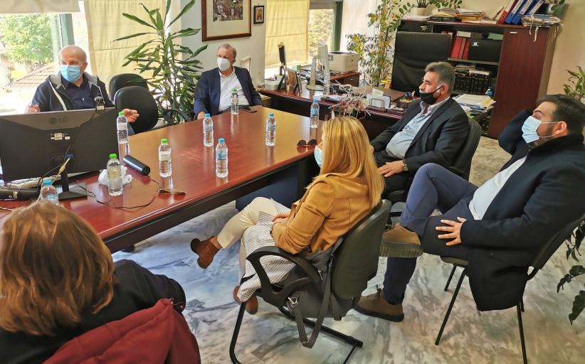 ΣΥΡΙΖΑ-ΠΡΟΟΔΕΥΤΙΚΗ ΣΥΜΜΑΧΙΑ Τρικάλων:  Κλιμάκιο του ΣΥΡΙΖΑ-ΠΣ Τρικάλων στον ΕΦΚΑ
