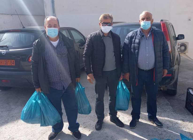 Επισιτιστική βοήθεια από το Δήμο Μετεώρων σε αναξιοπαθούντες συμπολίτες μας για το Πάσχα