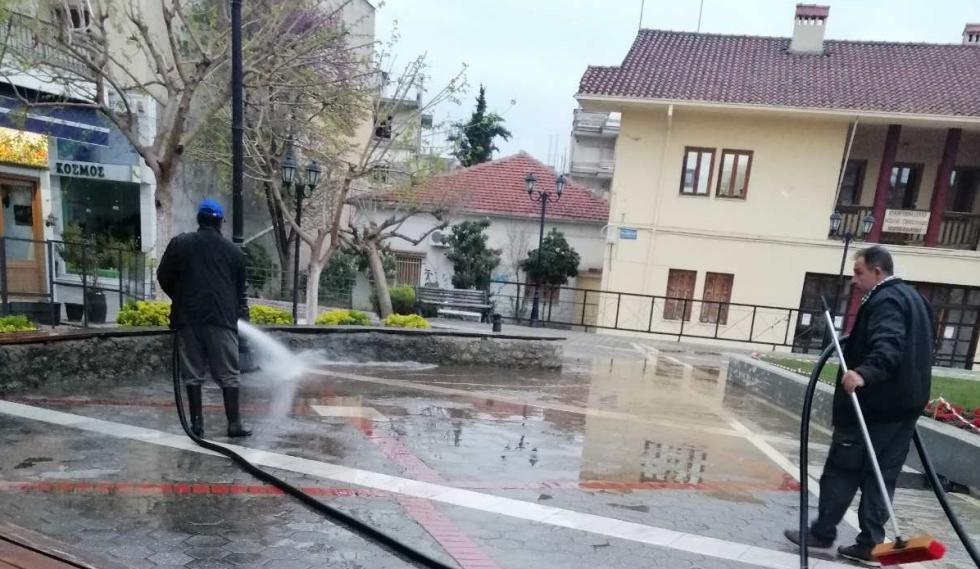 Δήμος Μετεώρων:  Πρόγραμμα καθαρισμού κοινόχρηστων χώρων