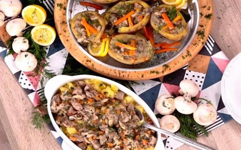 Συνταγή για μοσχάρι λεμονάτο σε φωλιές πατάτας