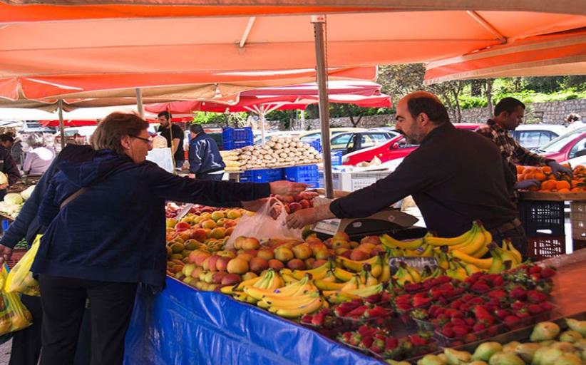 Πίνακες συμμετοχής πωλητών στην Λαϊκή Αγορά της Καλαμπάκας στις 09/04/2021