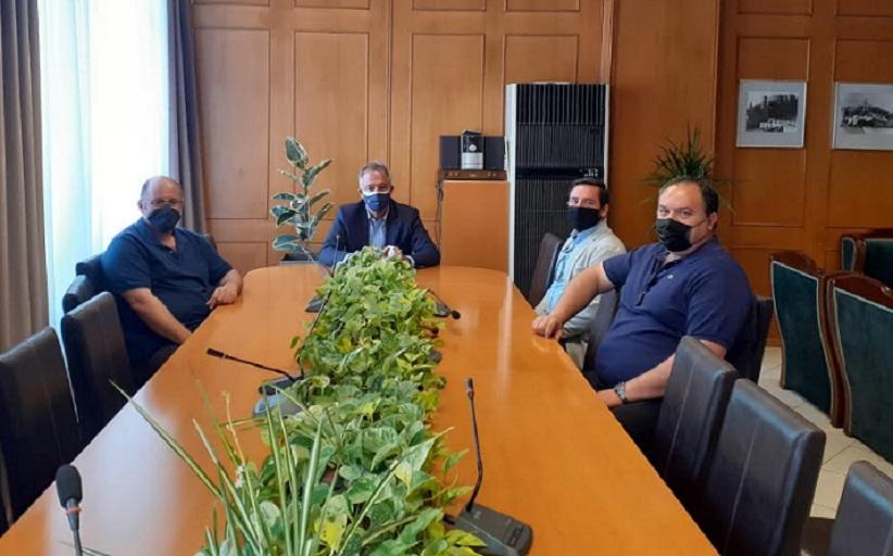Με τους Δασολόγους συναντήθηκε ο Χρ. Μιχαλάκης