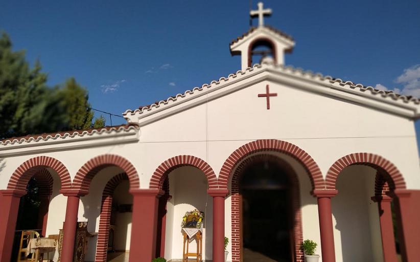 Θεία Λειτουργία στο εξωκκλήσι Αγίας Παρασκευής Διάβας