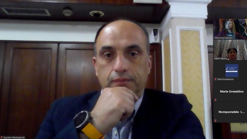 Ο Σπύρος Νικολογιάννης σε διεθνές συνέδριο τουρισμού