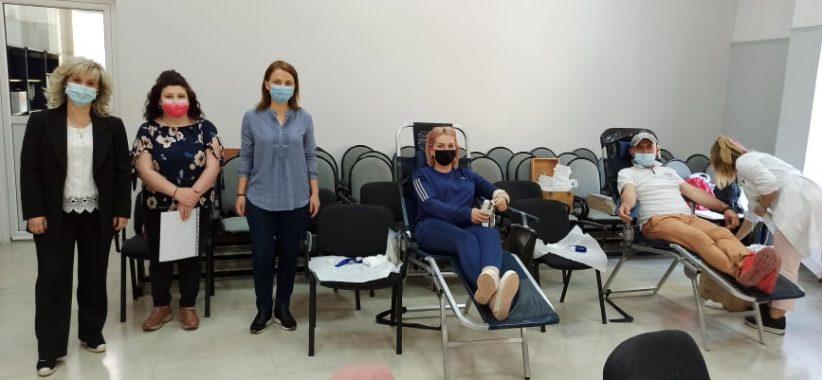 Πραγματοποιήθηκε η εθελοντική αιμοδοσία του Δήμου Φαρκαδόνας