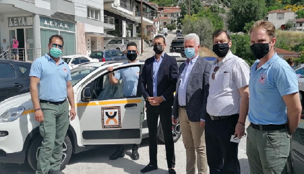 Δήμος Μετεώρων: Παραλαβή αυτοκινήτου δημοτικής αστυνομίας και ευχαριστήριο δημάρχου