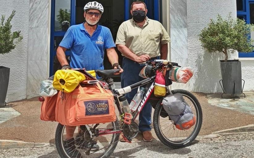 Ταξίδι με ποδήλατο σε όλη την Ελλάδα