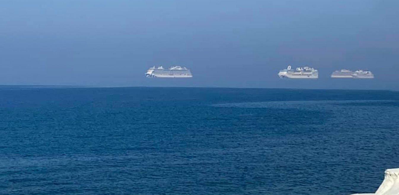 Τα «αιωρούμενα» κρουαζιερόπλοια της Λεμεσού