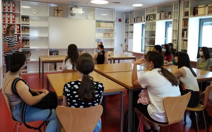 Επίσκεψη της Α΄ και Β΄ Τάξης του Γενικού Λυκείου Καλαμπάκας