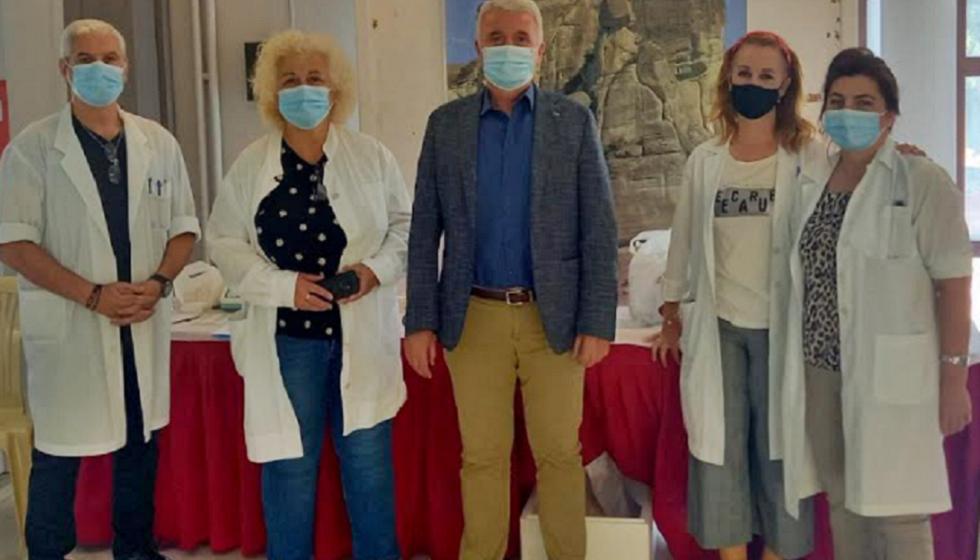 Εθελοντική Αιμοδοσία διοργάνωσε ο Δήμος Μετεώρων