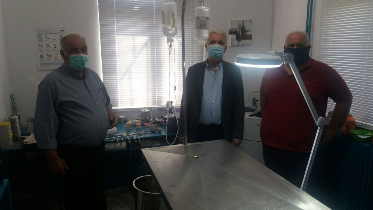 Δήμος Μετεώρων:  Έτοιμο για λειτουργία το δημοτικό κτηνιατρείο
