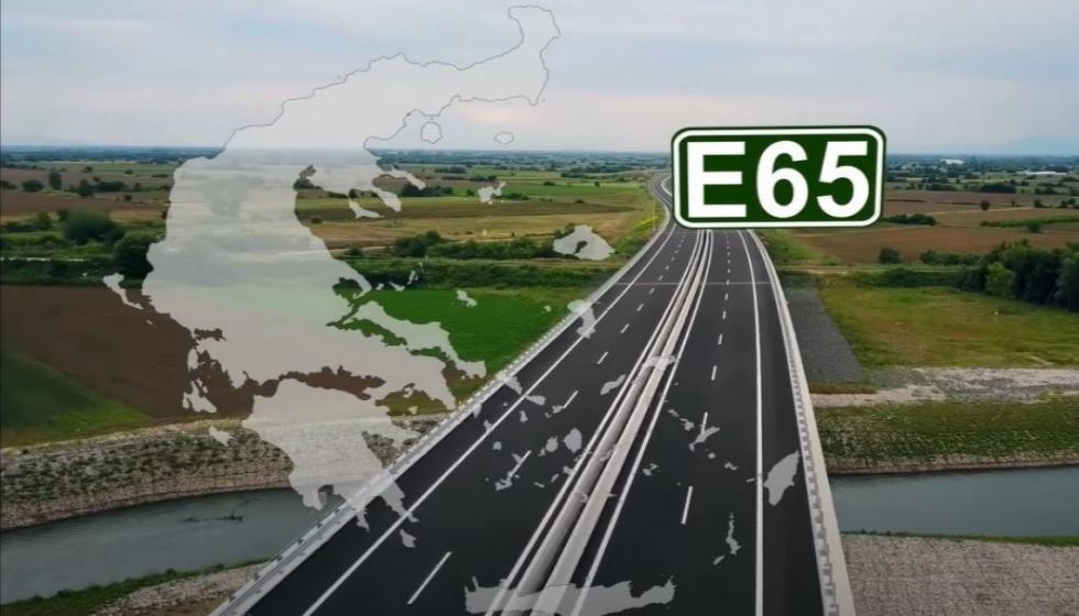 Αυτοκινητόδρομος Ε65 στην τελική ευθεία: Λαμία - Εγνατία σε 1 ώρα και 45'
