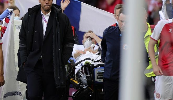 Euro 2020: Στο νοσοκομείο σε σταθερή κατάσταση ο Έρικσεν