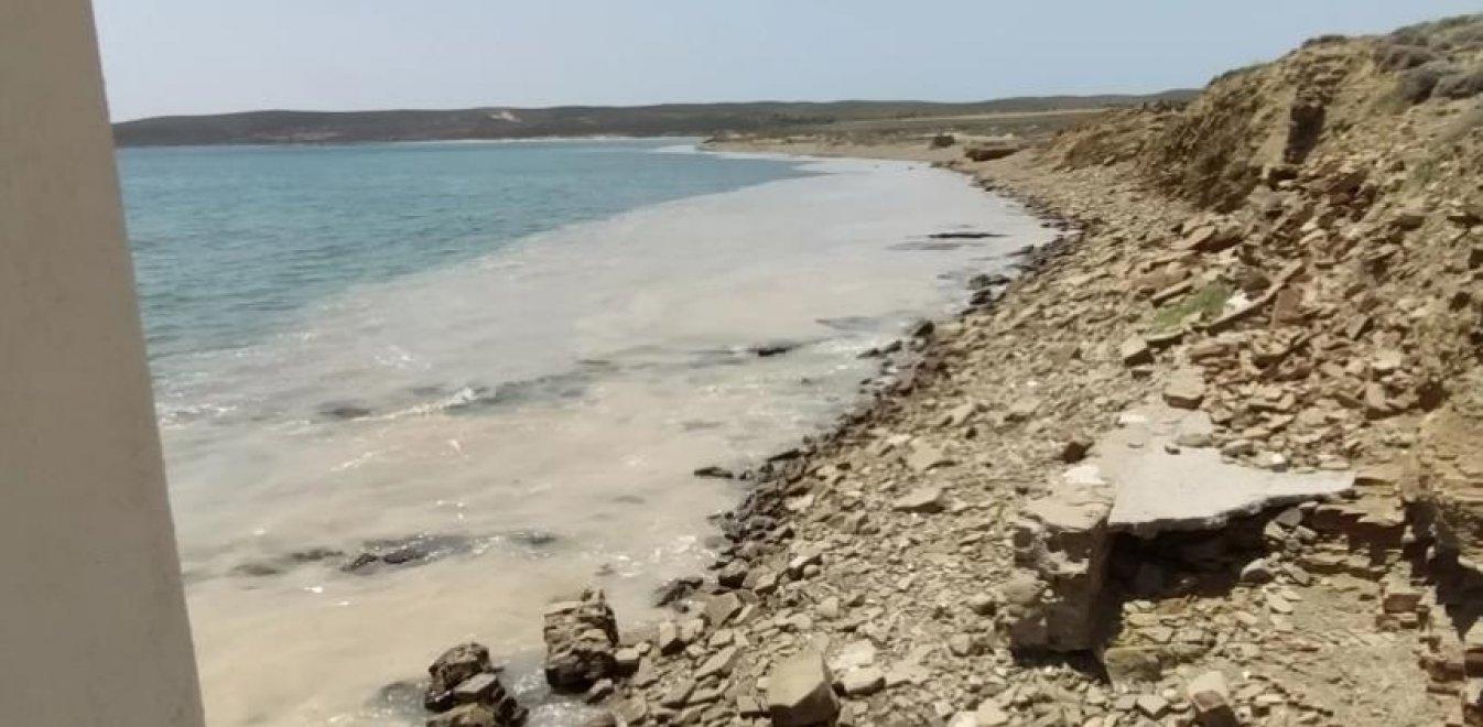 Λήμνος: Η θαλάσσια βλέννα του Μαρμαρά «περικυκλώνει» το νησί