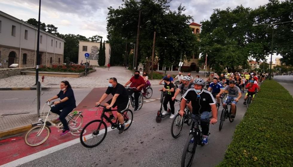 Μεγάλη ποδηλατάδα στα Τρίκαλα για την