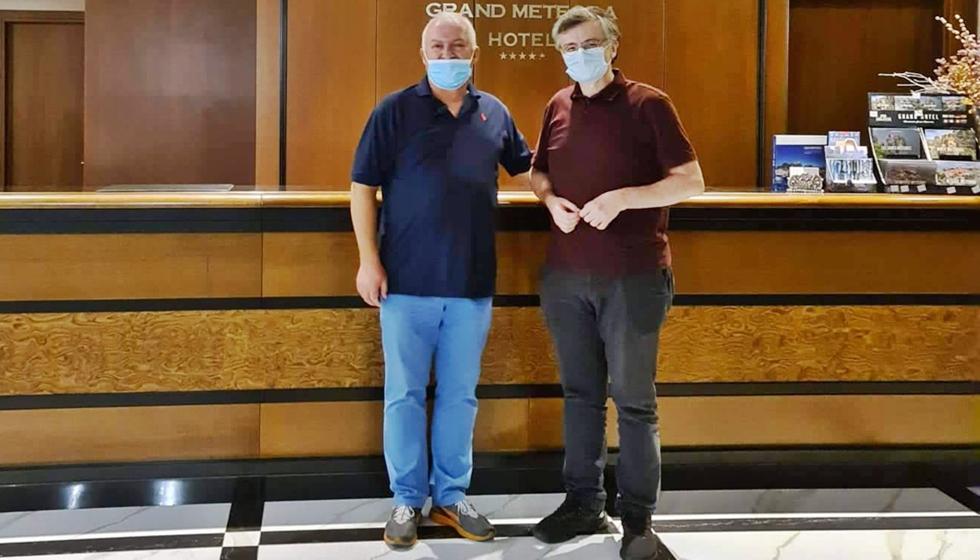 Το Καστράκι και το Grand Meteora Hotel, επισκέφθηκε ο Καθηγητής κ. Σωτήρης Τσιόδρας