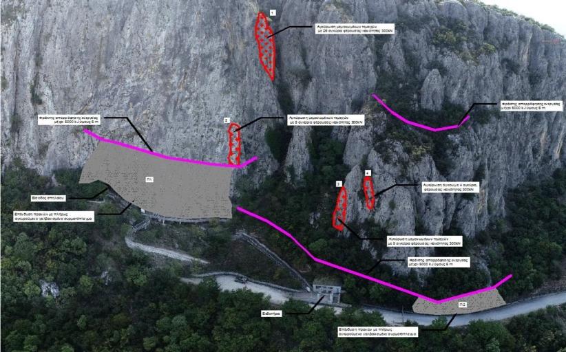 Στερεώνει το βράχο του Σπηλαίου της Θεόπετρας η Περιφέρεια Θεσσαλίας