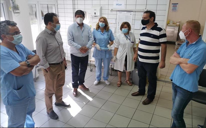 Παπαστεργίου από Εμβολιαστικό Τρικάλων: Συνεχίζουμε να χτίζουμε τείχος προστασίας