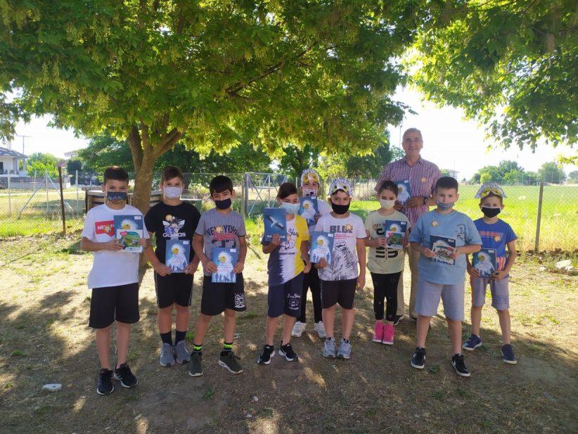 Ο Ασπροπάρης εύχεται καλό καλοκαίρι στη «Μαθητική Ομάδα Δράσης για τον Ασπροπάρη»