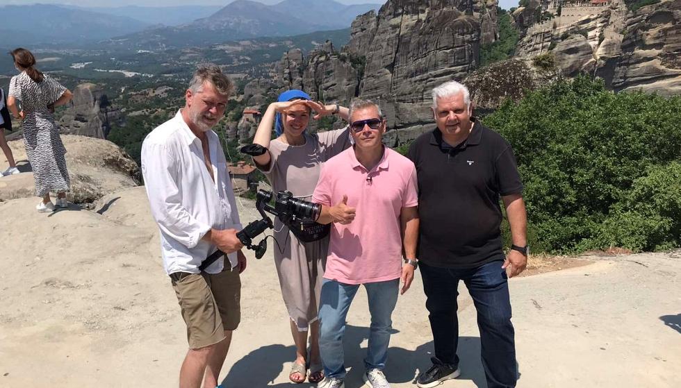 Τηλεοπτικό αφιέρωμα στα Μοναστήρια των Μετεώρων στα τέλη Ιουλίου από το ρωσικό κανάλι REN TV
