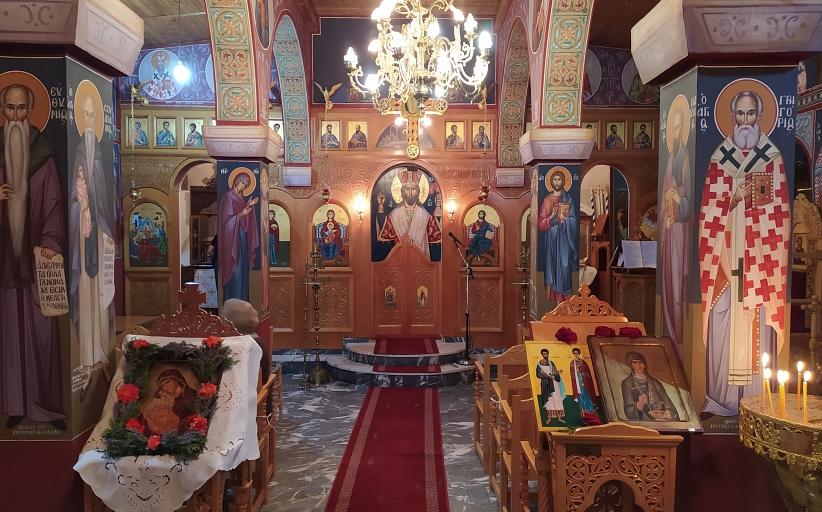 Πρόγραμμα Ιεράς Πανηγύρεως Αγίας Παρασκευής Kορομηλιάς