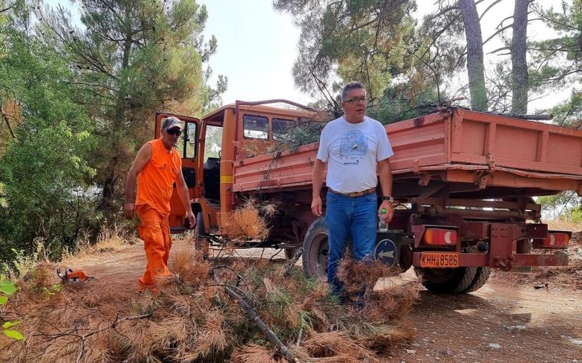 Σε πλήρη ετοιμότητα ο Δήμος Τρικκαίων για ενδεχόμενο πυρκαγιάς