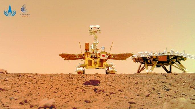 Άρης: Oι πρώτοι απόκοσμοι ήχοι του «κόκκινου» πλανήτη από την αποστολή της Κίνας