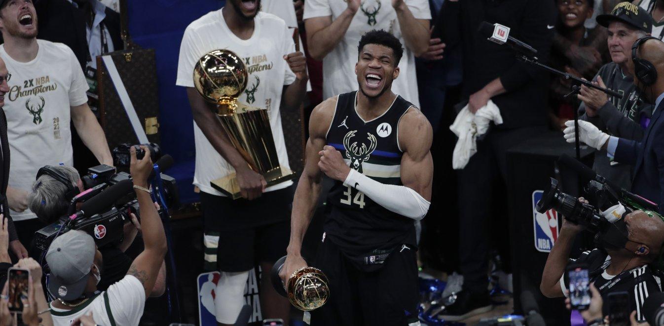 NBA – Αντετοκούνμπο: Δεν πίστευα ποτέ ότι στα 26 μου θα έπαιζα στους τελικούς