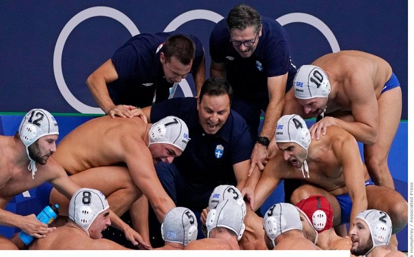 Η Εθνική Πόλο παρέδωσε μαθήματα ζωής μέσα και έξω από την πισίνα