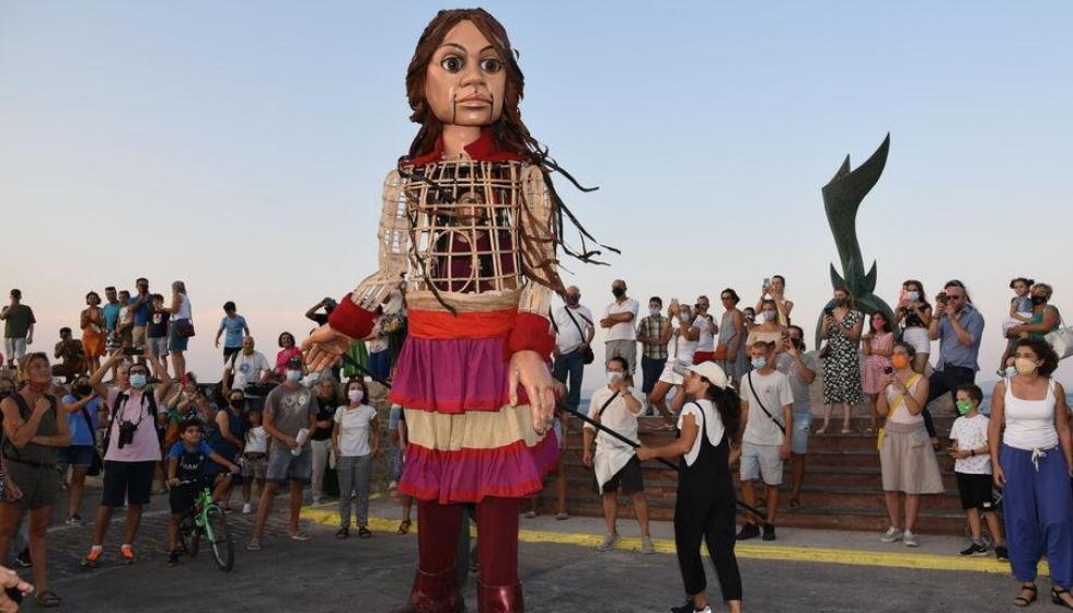 Ο.Μ. ΣΥΡΙΖΑ-Π.Σ.  ΚΑΛΑΜΠΑΚΑΣ: Ποιος φοβάται την Αμάλ; - Ποια είναι η Αμάλ που τρέμουν οι κουκλοφοβικοί, πονηροί, μισαλόδοξοι, ρατσιστές