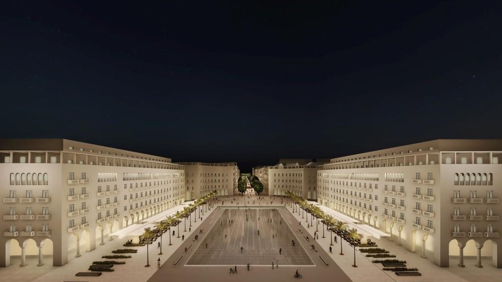 Αλλάζει όψη η πλατεία Αριστοτέλους (βίντεο, φωτ.)