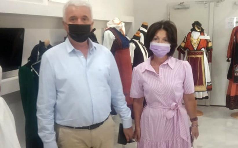 Την Έκθεση του Συλλόγου «Παλαιοπαναγιά» επισκέφθηκε ο ΔήμαρχοςΜετεώρων
