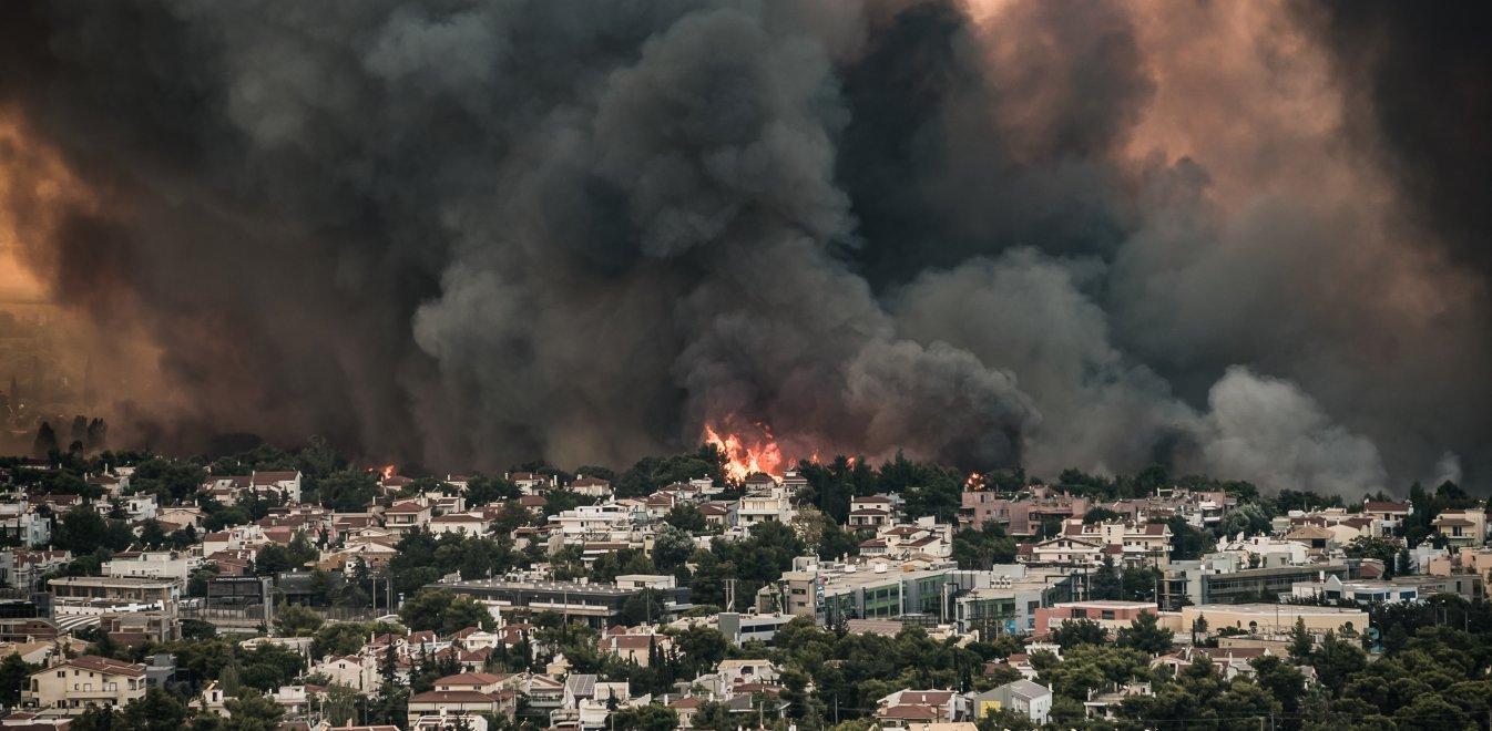 Εθνικό Αστεροσκοπείο Αθηνών: Διασπορά του καπνού από τις πυρκαγιές σε όλη τη χώρα