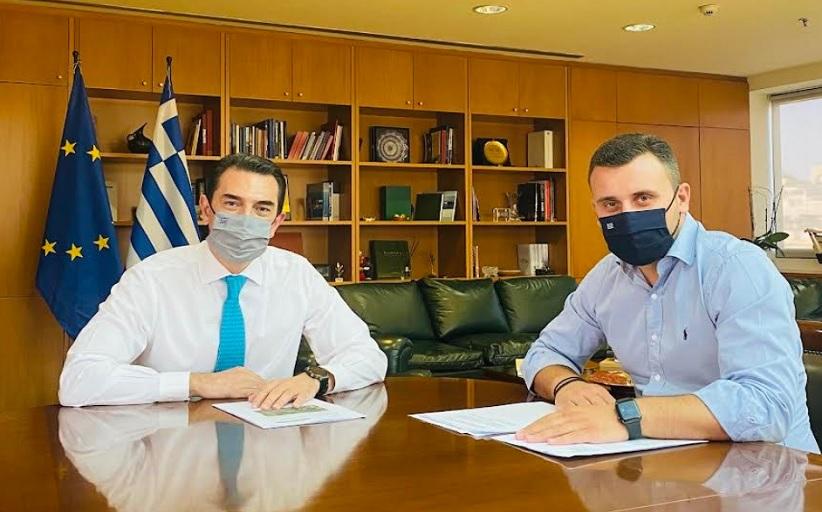 Συνάντησή Αβραμόπουλου - Σκρέκα στην Αθήνα