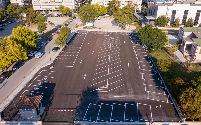 Δ. Τρικκαίων: 80 θέσεις δωρεάν στάθμευσης στο αναμορφωμένο πάρκινγκ περιοχής ΔΕΗ