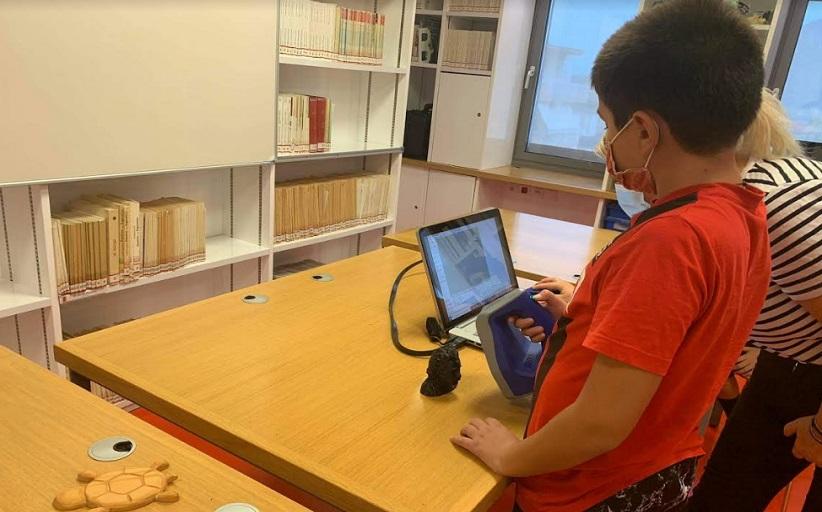 Εργαστήριο 3D σάρωσης για παιδιά