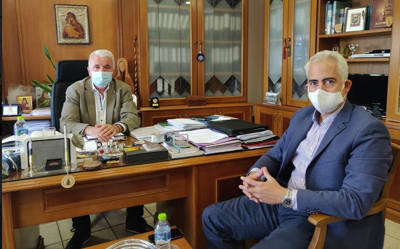 Συνάντηση του Δημάρχου Δήμου Μετεώρων με τον Πρόεδρο του ΚΕΘΕΑ
