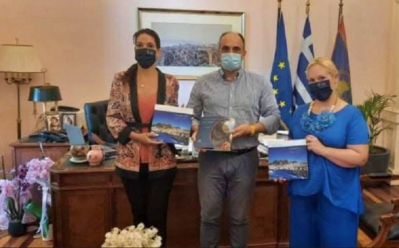 Επίσκεψη του κ. Νικολογιάννη και του Δήμου Μετεώρων και του Δήμου Κέρκυρας
