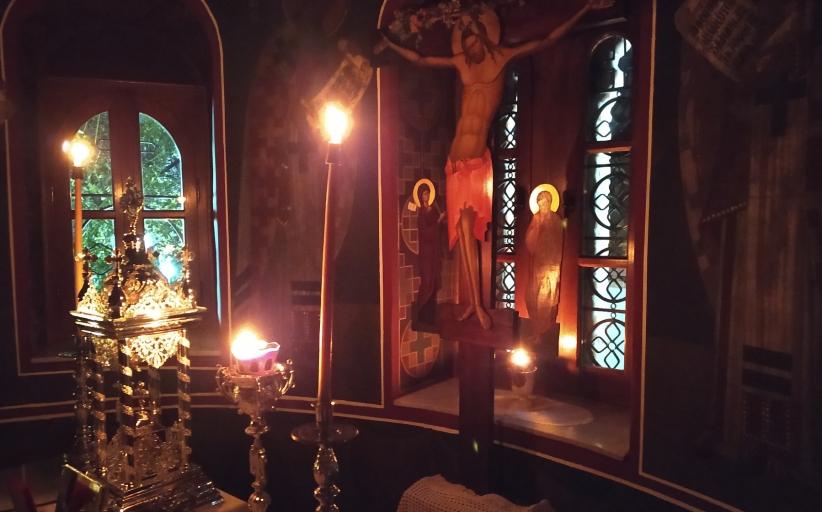 Ιερά Αγρυπνία στον Άγιο Δημήτριο Διάβας για το Γενέθλιο της Θεοτόκου.