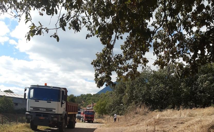 Συντήρηση και αποκατάσταση ζημιών σε αγροτικούς δρόμους Κοινοτήτων